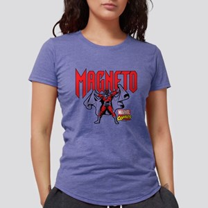 Magneto X-Men Womens Tri-blend T-Shirt