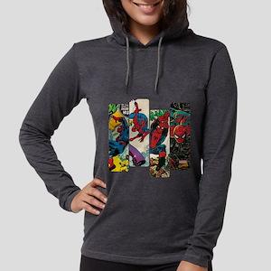Spiderman Comic Panel Womens Hooded Shirt