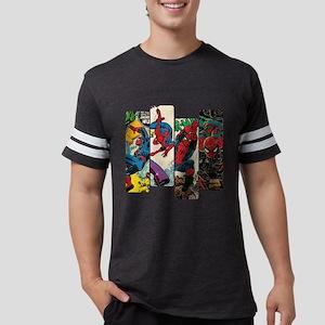 Spiderman Comic Panel Mens Football Shirt
