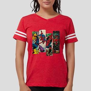 Spiderman Comic Panel Womens Football Shirt