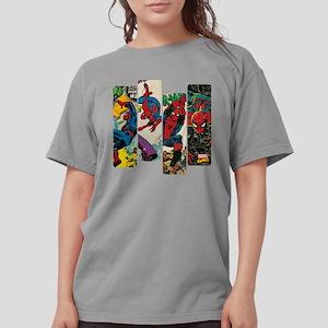Spiderman Comic Panel Womens Comfort Colors Shirt
