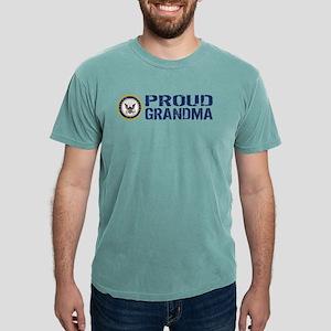 U.S. Navy: Proud Grandma Mens Comfort Colors Shirt
