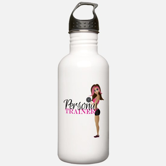 Personal Trainer Fit Girl Water Bottle