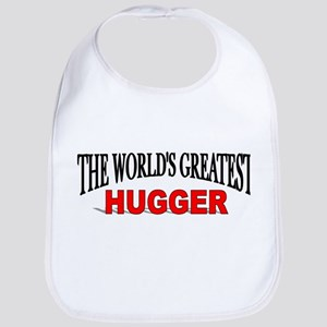 """The World's Greatest Hugger"" Bib"