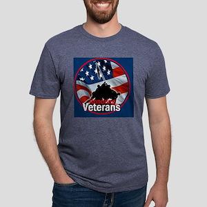 Honoring Veterans Mens Tri-blend T-Shirt