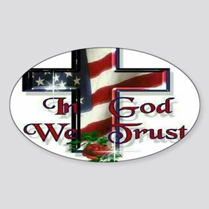 IN GOD WE TRU Sticker