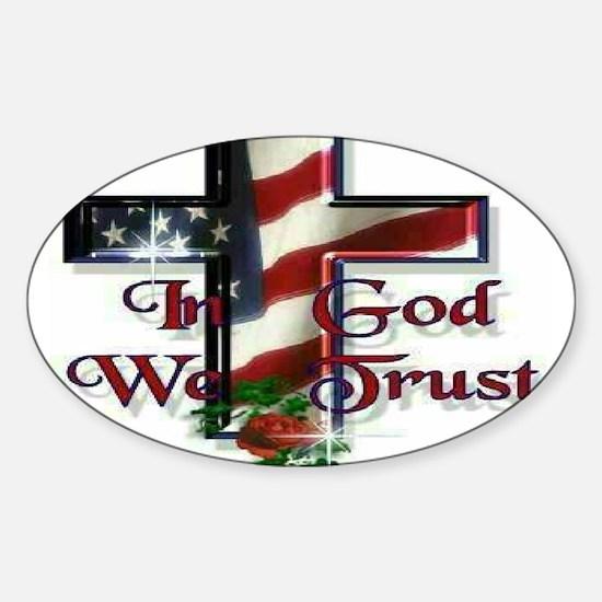 IN GOD WE TRU Decal