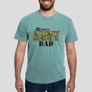 Camo Proud Army Dad Mens Comfort Colors Shirt