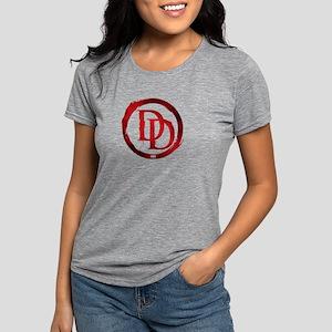 Daredevil Grunge Logo Womens Tri-blend T-Shirt