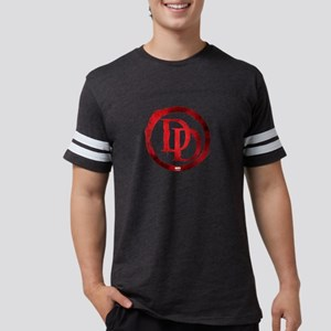 Daredevil Grunge Logo Mens Football Shirt