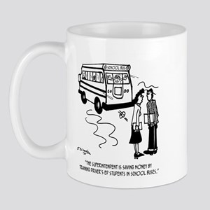 Driver's Ed Uses a School Bus Mug