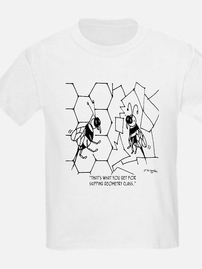 Bee Skips Geometry Class T-Shirt