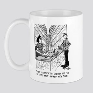 Read War & Peace in 15 Minutes Mug