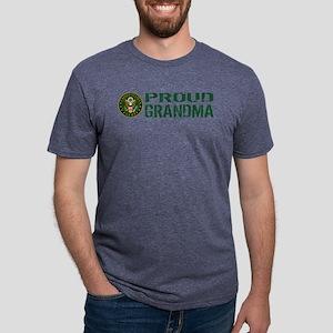 U.S. Army: Proud Grandma (G Mens Tri-blend T-Shirt