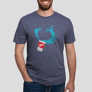 Glee Slushie Dark Mens Tri-blend T-Shirt