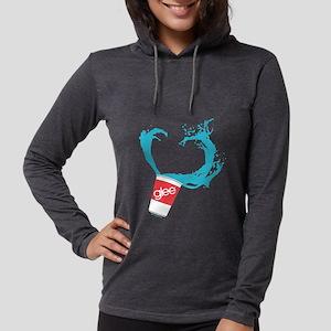 Glee Slushie Dark Womens Hooded Shirt