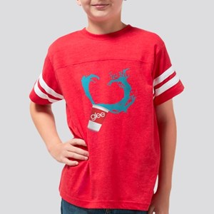 Glee Slushie Dark Youth Football Shirt