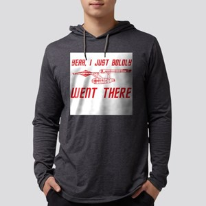 Boldly Went There Mens Hooded Shirt