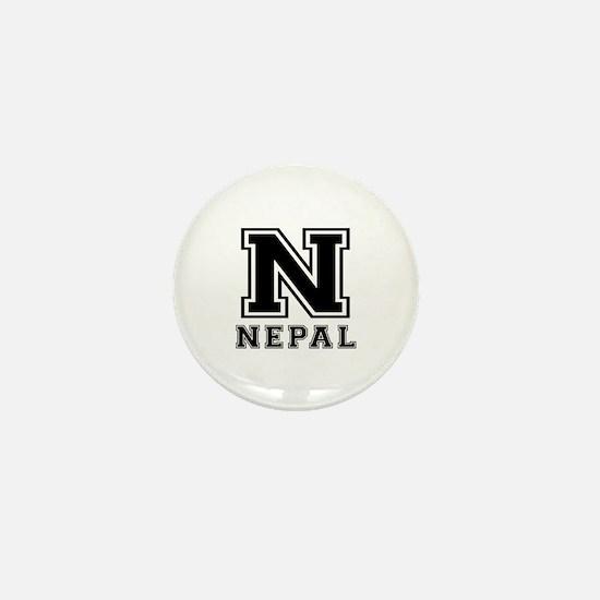 Nepal Designs Mini Button