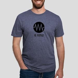 Resistance Symbol is Futile Mens Tri-blend T-Shirt