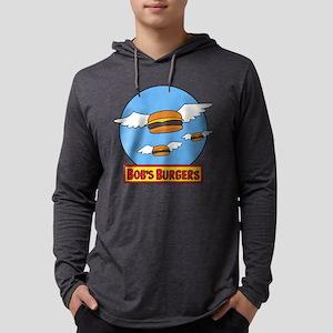 Bob's Burgers Flying Burgers Lig Mens Hooded Shirt