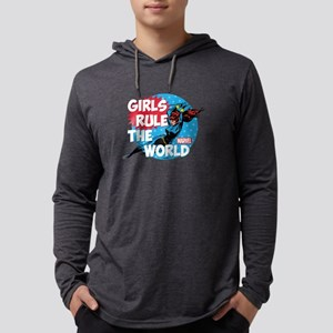 girls rule the world Mens Hooded Shirt