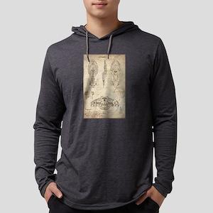 Da Vinci Voyager Mens Hooded Shirt