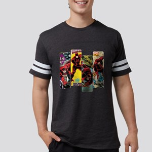 292313_daredevil_comic_panel Mens Football Shirt