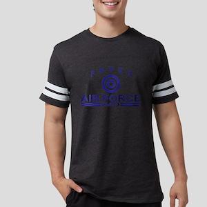airforcedadgry Mens Football Shirt