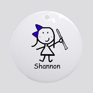 Clarinet - Shannon Ornament (Round)