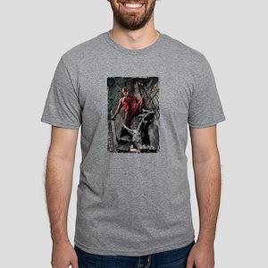 Daredevil Gargoyle Mens Tri-blend T-Shirt
