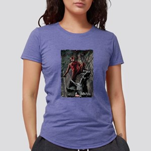 Daredevil Gargoyle Womens Tri-blend T-Shirt