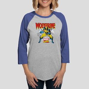 Wolverine Attack Womens Baseball Tee