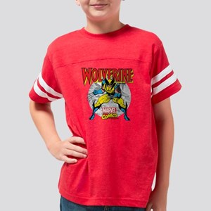 Wolverine Attack Youth Football Shirt