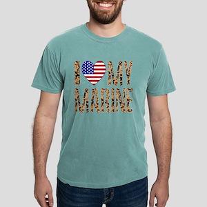I Love My Marine Mens Comfort Colors Shirt