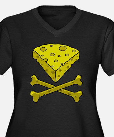 Cheese & Crossbones Plus Size T-Shirt