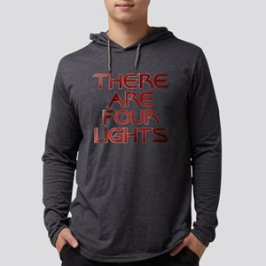 There Are Four Lights Mens Hooded Shirt