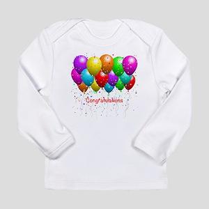 Congratulations Balloons Long Sleeve T-Shirt