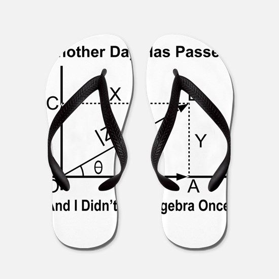 Algebra Humor Flip Flops