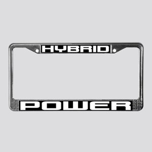 Hybrid POWER License Plate Frame