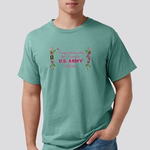 I Raised An Army Soldier Mens Comfort Colors Shirt