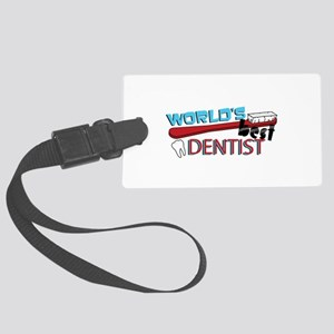 Worlds Best Dentist Luggage Tag