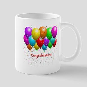 Congratulations Balloons Mug