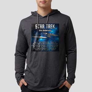 50TH FINAL FRONTIER Mens Hooded Shirt
