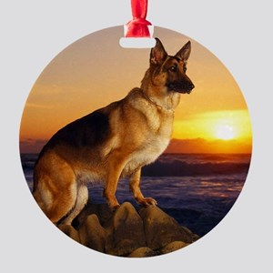 Beautiful German Shepherd Ornament