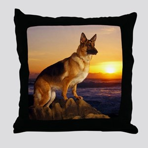 Beautiful German Shepherd Throw Pillow