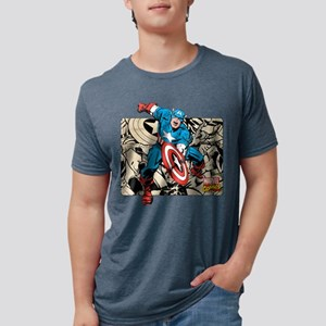 292313_captain_america_retr Mens Tri-blend T-Shirt