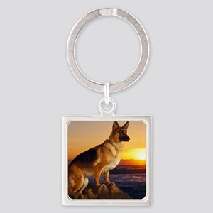Beautiful German Shepherd Keychains
