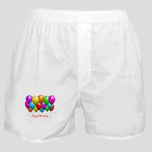 Happy Birthday Balloons Boxer Shorts
