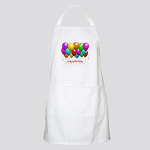 Happy Birthday Balloons Apron